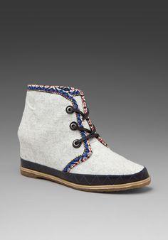 eliotte wool bootie $120