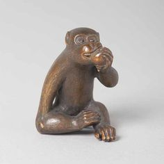 《猿根付》京都国立博物館