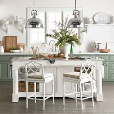 Barrelson Kitchen Island with Marble Top | Williams-Sonoma