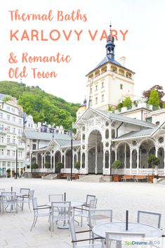 Ever considered an autumn trip to a colourful czech spa town in the middle of Bohemian forests? Read more here Most Romantic, Hiking Trails, Czech Republic, Forests, Old Town, House Colors, Taj Mahal, Travel Tips, Spa