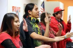 American Indian youth address suicide through innovative media project