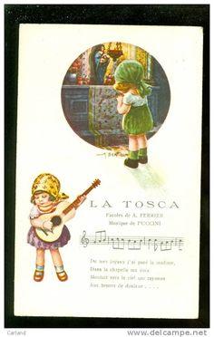 Illustrateur :  Bertiglia - Musique de Puccini