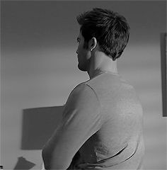 Derek Hale's tattoo. And his back. And his muscles. And... I should probably stop drooling now
