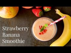 Strawberry Banana Smoothie | Smoothie Recipe | Just One Cookbook