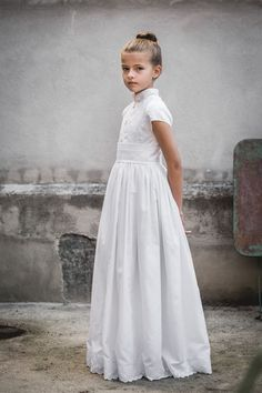 Navascués – Vestidos Novia Navascués – Communion Flower Girls, Flower Girl Dresses, Fashion Kids, Little Girl Fashion, Girls White Dress, Girls Dresses, Maternity Dresses Summer, Holy Communion Dresses, Kids Gown