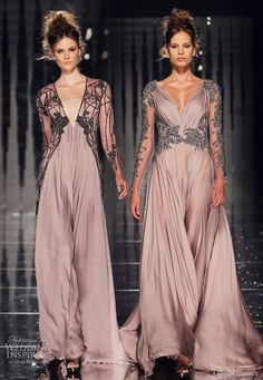 Our favorite looks from Abed Mahfouz Fall/Winter couture collection. Haute Couture Style, Beautiful Gowns, Beautiful Outfits, Runway Fashion, High Fashion, Luxury Fashion, Dream Dress, Evening Dresses, Afternoon Dresses