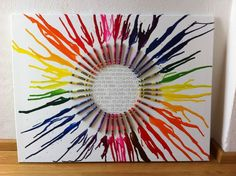 Hochzeitsgeschenk. Crayon art.