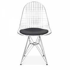 House Wishlist - Dining Room, Charles Eames Style Chrome DKR Wire Chair, Cult Furniture, 79£