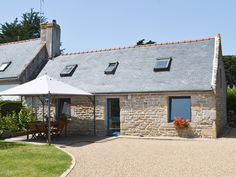 A lovingly restored stone fishermen's cottage set in an historic French hamlet.