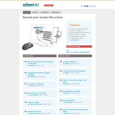 Website 'http://screenbird.com/' snapped on Snapito!