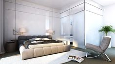 some beds you just want to jump on... no matter how old you are :) | modern #bedroom design