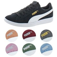 5c0780e08b8 Puma Vikky Women s Suede Soft foam Court Low-Top Fashion Sneaker Shoes for   24.99 (