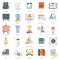 Education theme icon set. Business Infographic. $8.00
