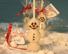 3 Frosty the Snowman CakePops Individually by Scrumpalicious, $9.00