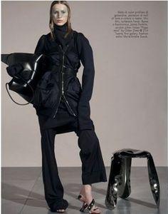 Perfect pieces -Vogue Italia. Steven Meisel# Vogue# Italia#Jaana Parkkilla#Fisarmonica