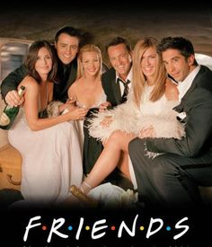 FRIENDS. Greatest TV show EVER! <3