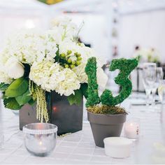 We're in love with this soft, romantic centerpiece by Amazing Blooms Studio | Planning & Design: A Good Affair Wedding & Event Production