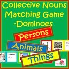 This is a bundled collection of my collective noun domino cards for the three categories - people, animals and things. Altogether, these cards have... $