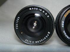 Un test rapide du Pentacon 30mm F3.5 - Meyer Lydith