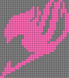 Fairy Tail Emblem Perler Bead Pattern / Bead Sprite