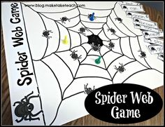 Halloween themed centers for teaching sight words, CVC words, rhyme and more!