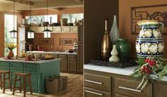 The 7 Best Wall Colors for Kitchens: Brown Is the Color of Cozy Kitchens