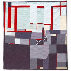 LOVE, LOVE, LOVE this quilt.  I need to make this.  Inspired, abstract, perfect.  JaffWorks.