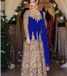 Ethnic Bollywood DESIGNER Partywear Salwar Kameez Indian Pakistani Anarkali Suit for sale online Pakistani Bridal Lehenga, Lehenga Wedding, Party Wear Lehenga, Indian Anarkali, Silk Anarkali Suits, Long Anarkali, Salwar Suits, Anarkali Dress, Choli Dress