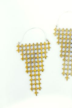 Aesa Sale 60% off - Valeria's Crossing Bronze Earring | BONA DRAG