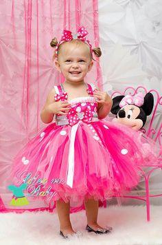 Minnie Mouse Tutu Dress Princess Minnie inspired by GlitterMeBaby, $60.00