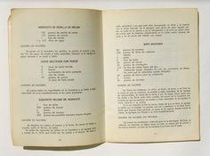 50-recetas-de-cocina-mexicana-de-la-cfe-libro-mexicano-1968-989301- Horchata, Collor, Personalized Items, Yuri, Food, Recipe Books, Mexican Recipes, Mexican Sopes, Old Recipes