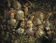 DEFILE DANCIENS  Nom anglais : Parade of Ancients by claude verlinde