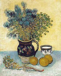 Vincent van Gogh - Still Life [1888] | by Gandalf's Gallery