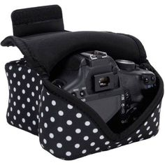 DSLR Camera Sleeve Case with DuraNeoprene Technology , Accessory Storage & Strap Openings - by USA GEAR - Works With Nikon , Canon , Sony and Many Other DSLR Cameras