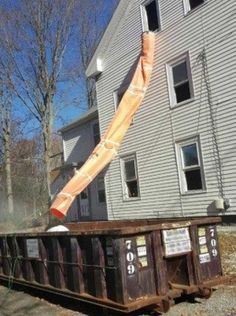 Easy Chute 10ft Section - Easy Chute Construction Debris Chute