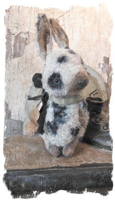 Antique Style ★ Spotted Chubby Old Rabbit Vintage de Paris ★ by Whendi Bears | eBay