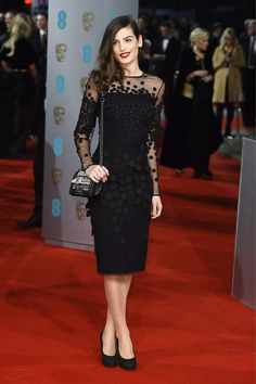 EE BAFTAs 2015. Elegancia sobre la 'Red Carpet' © Gtres Online / Cordon Press / Getty Images / D.R.