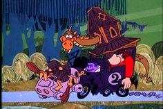 hanna-barbera cartoon  wacky races | The Creepy Coupe (contestant in 'Wacky Races' animated series)