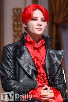 Kim Junsu at 'Dracula' Musical press call interview 140722