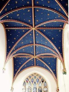 Chapel Ceiling Starry Chapel Ceiling in St. Mary's Parish Church in Old Amersham, Bucks by CathyStarry Chapel Ceiling in St. Mary's Parish Church in Old Amersham, Bucks by Cathy Futuristic Architecture, Historical Architecture, Interior Architecture, Interior And Exterior, Church Architecture, Interior Plants, Interior Ideas, Ravenclaw, Star Ceiling