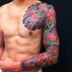 Tattoo by Adam Kitamoto www.ten-ten.com.au