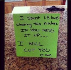30 Hilarious Notes From Moms