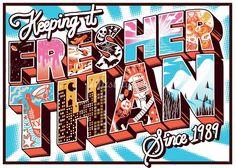 Sam Bevington - Poster Design illustrator & Printmaker, Melbourne, Australia