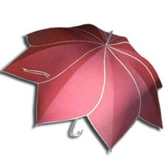 umbrella, is this pink or red? Hmmm...well it's pretty and I'm calling it dark pink. Ha!