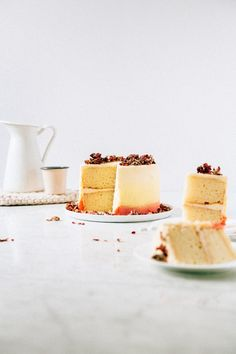 White Rose Cake with White Chocolate Mousse Frosting | Hummingbird hHgh