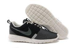 Nike Roshe Run Nm Br 3m Coal Noir Blanc