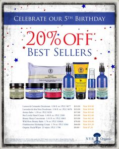 Well.. since you put it that way.. why not.. shop today.. save today.. sounds good to me.. us.nyrorganic.com/shop/nyrorganicutah