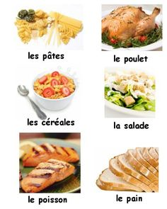 French Food Vocabulary - Learn how to say over 100 kinds of food in French with this audio lesson!
