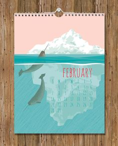 2016 Wall Calendar / Flora & Fauna