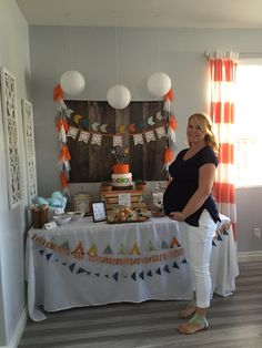 Follow your Arrow baby shower! It's a Boy shower. Woodland baby shower. Tribal baby shower.